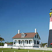 Tybee Island Lighthouse Georgia Art Print