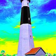 Tybee Island Lighthouse - Photopower Art Print