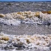 Tybee Waves Art Print