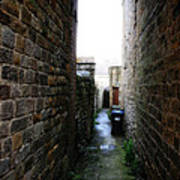 Typical English Back Alley Art Print