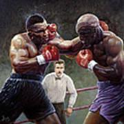 Tyson/holyfield Art Print