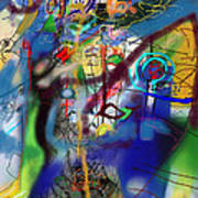 Tzadik 6h Art Print