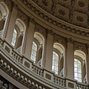 U S Capitol Dome Art Print