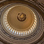 U S Capitol Rotunda Print by Steve Gadomski