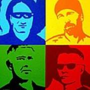 U2 Art Print by John  Nolan