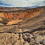 Ubehebe Crater Art Print