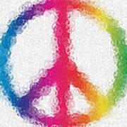 Uber Peace Art Print