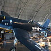 Udvar-hazy Center - Smithsonian National Air And Space Museum Annex - 12122 Art Print by DC Photographer