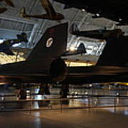 Udvar-hazy Center - Smithsonian National Air And Space Museum Annex - 121247 Art Print by DC Photographer