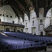 Uf University Auditorium Interior And Seating Art Print