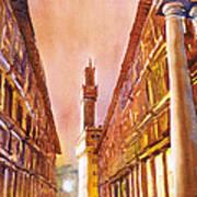 Uffizi- Florence Art Print