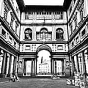 Uffizi Gallery In Florence Art Print