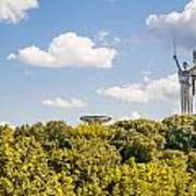 Ukraine Motherland Statue  Art Print