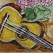 Ukulele One Art Print