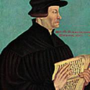 Ulrich Zwingli Art Print