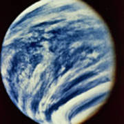 Ultraviolet Photo Taken By Mariner 10 Art Print