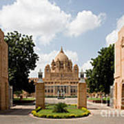 Umaid Bhawan Palace, India Art Print