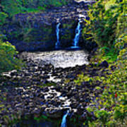 Umauma Falls I Art Print