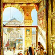 Umayyad Mosque Art Print