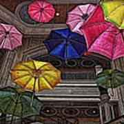 Umbrella Fun Art Print
