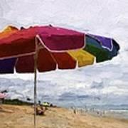 Umbrella Time Art Print