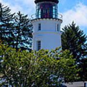 Umpqua River Lighthouse Art Print