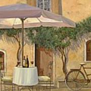 Un Ombra In Cortile Art Print