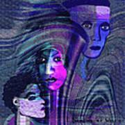 Una Madonna Arrabbiata - 315   Art Print