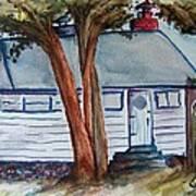 Uncle Bills Cottage Art Print