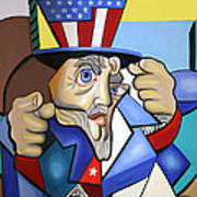 Uncle Sam 2001 Art Print