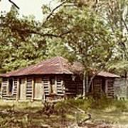 Uncle Toms Cabin Brookhaven Mississippi Print by Michael Hoard