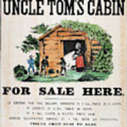Uncle Tom's Cabin, C1860 Art Print