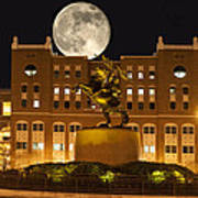 Unconquered Doak Campbell Full Moon Art Print