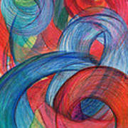 Uncovered Curves-vertical Art Print by Kelly K H B