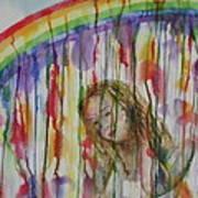 Under A Crying Rainbow Art Print