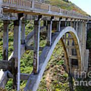 Under Bixby Bridge By Diana Sainz Art Print
