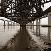 Under Bridges Art Print