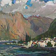 Under Heaven Of Montenegro Art Print