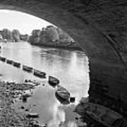 Under Richmond Bridge Art Print