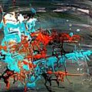 Under Sea Ladders 3 Art Print