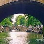 Under The Canals Art Print