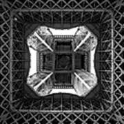 Under The Eiffel Art Print