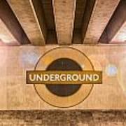 Underground Underground Art Print