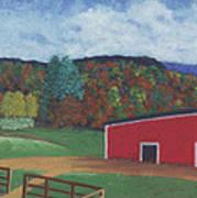 Undermountain Autumn Art Print