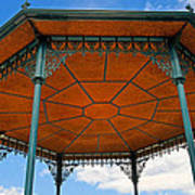Underneath A French Gazebo Art Print