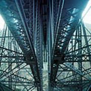 Underside Of A Bridge, Hudson Valley Art Print