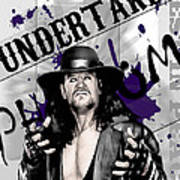 Undertaker Art Print