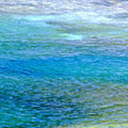 Underwater Colors Art Print