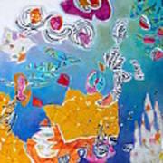 Underwater Flowers Art Print by Diane Fine
