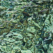Underwater Rocks - Adriatic Sea Art Print